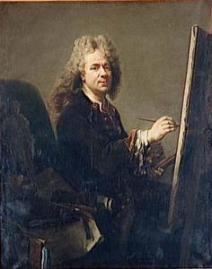 Zelfportret van Jacob (Jacques) van Schuppen (1670-1751)
