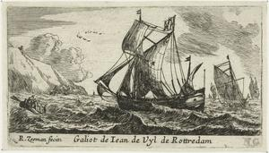 De galjoot van Jan de Uyl uit Rotterdam