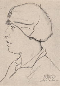 Portret van Marie Baron (1908-1948)