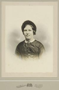 Portret van Casparina Louisa Eekhout (1830-1886)