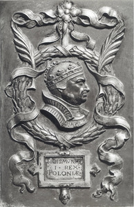 Portret van Sigismund I (1467-1548), koning van Polen