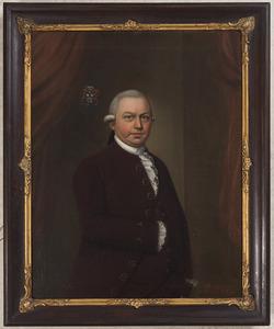 Portret van Hendrik Joan van der Wyck (1744-1787)