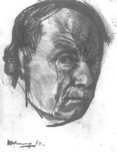 Zelfportret van Kees Verwey (1900-1995)