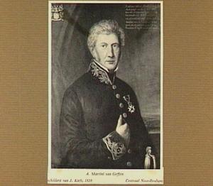 Portret van A. Martini van Geffen