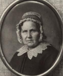 Portret van Suzanna van Aanholt (1783- )
