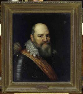 Portret van Justinus van Nassau (1559-1631)