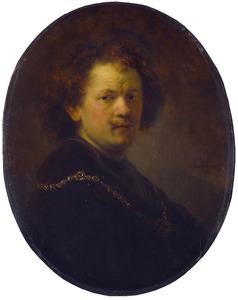 Zelfportret, blootshoofds