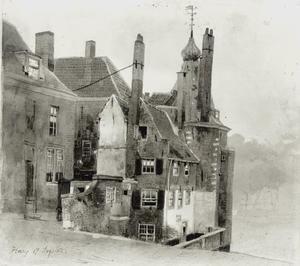 Den Haag, 'het torentje' tussen de Grenadierspoort bij het Binnenhof en het Mauritshuis