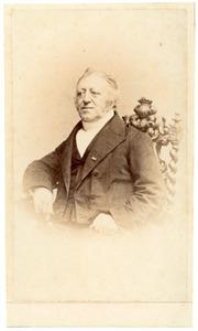 Portret van Louis Jacques Quarles van Ufford (1796-1872)