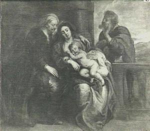 H. Familie met Anna