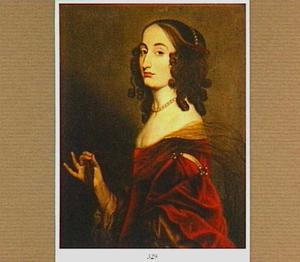 Portret van Louise Hollandine, tweede dochter van Frederik V van de Palts (1622-1709)