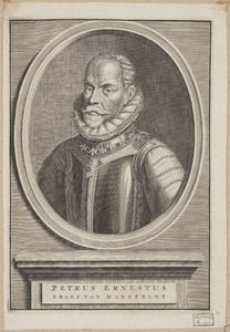 Portret van Peter Ernst van Mansfeld (1517-1604)