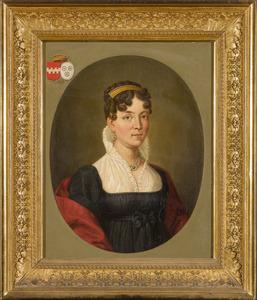 Portret van Cornelia Maria Theresia Josepha barones van Wijnbergen (1790-1881)