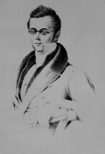 Portret van Aernoud Drost (1810-1834)