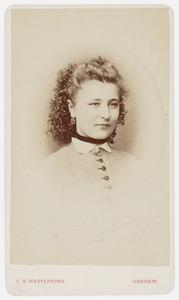 Portret van Anna Frederica van Haersma de With (1856-1922)