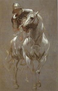 Soldaat op een paard