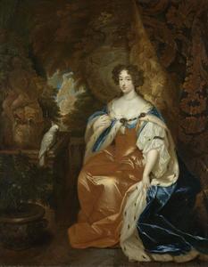 Portret van prinses Maria Stuart II (1662-1695)
