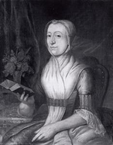 Portret van Eva de Veer (1730-1788)