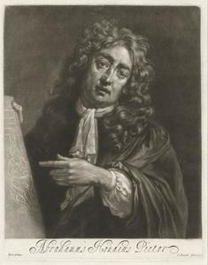 Portret van Abraham Hondius (ca. 1631-1691)