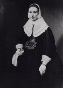 Portret van een vrouw, mogelijk Elisabeth Simons