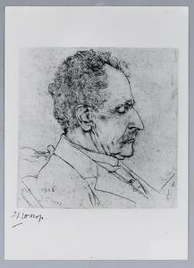 Portret van generaal Drabbe