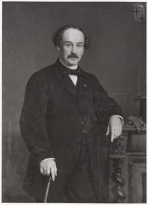 Portret van Jules Auguste graaf van Bylandt (1818-1873)