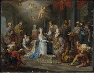 Het huwelijk van de H. Maagd Maria en Jozef