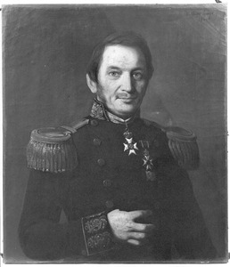 Portret van Kapitein-ter-Zee jhr. Henri Jan Leopold Theodore de Vaynes van Brakell