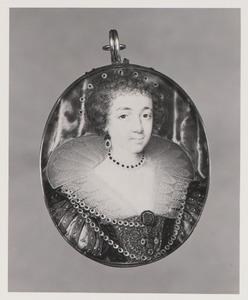 Portret van Henrieta Maria de Bourbon (1609-1669)