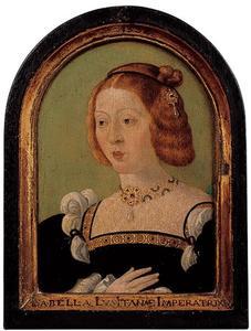 Portret van Isabella van Portugal (1503-1539)