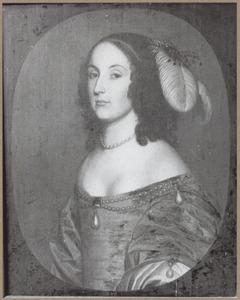 Portret van Henriette Amalia zu Dohna (1626-1655)