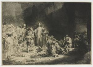 Christus de zieken genezend (De Honderd Gulden prent)