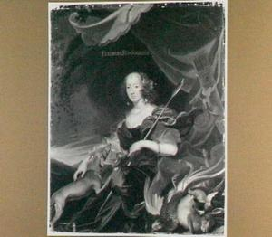 Portret van Eleonora van Gonzaga-Nevers (1639-1686)