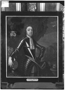 Portret van Douwe (Sirtema) van Grovestins (1652-1690)