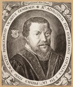 Portret van Guilhelmus Copallius ( -1599)