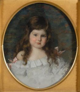 Portret van Louise Marguérite van Loon (1891-1947)