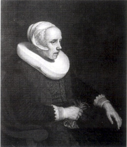 Portret van Annetge Willemsdr. Backer (1572-1639)