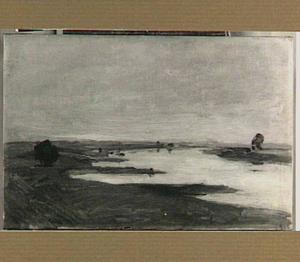 De rivier de Lek