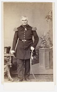 Portret van Henricus Arnoldus Johannes Baptist de Quay ( -1870)