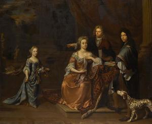 Portret van een onbekende family