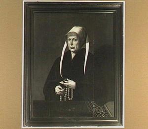 Portret van Josina van Foreest, echtgenote van Pieter Claesz. Paling