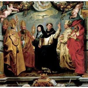 Verdedigers van het dogma van de eucharistie