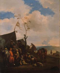 Soldaten kamp