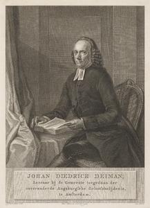 Portret van Johan Dietrich Deiman (1732-1783)