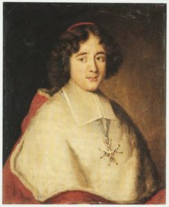 Portret van Emmanuel Théodore de la Tour d'Auvergne, cardinal de Bouillon (?-1730)