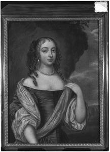 Portret van een vrouw, mogelijk Anna van Aerssen van Wernhout (1642-1722)