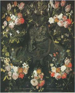 De verschijning van de Madonna en het Kind aan de H. Leopold van Oostenrijk