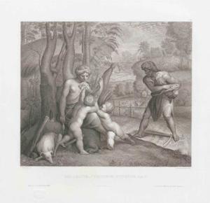 het dagelijks leven van Adam en Eva  (Genesis 4:1-2)