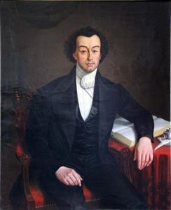 Portret van Henrik van den Broeke (1802-1850)