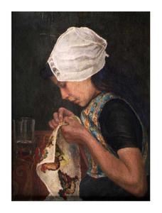 Portret van Leuntje Schroevers (....-.....0